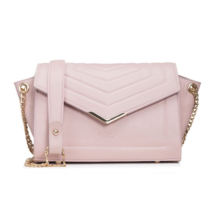 LABANTE LONDON   KENSIGNTON CROSS BODY BAG, NUDE PINK  €100,36