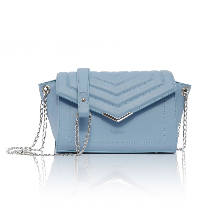 LABANTE LONDON   KENSIGNTON CROSS BODY BAG, SERENITY BLUE  €100,36