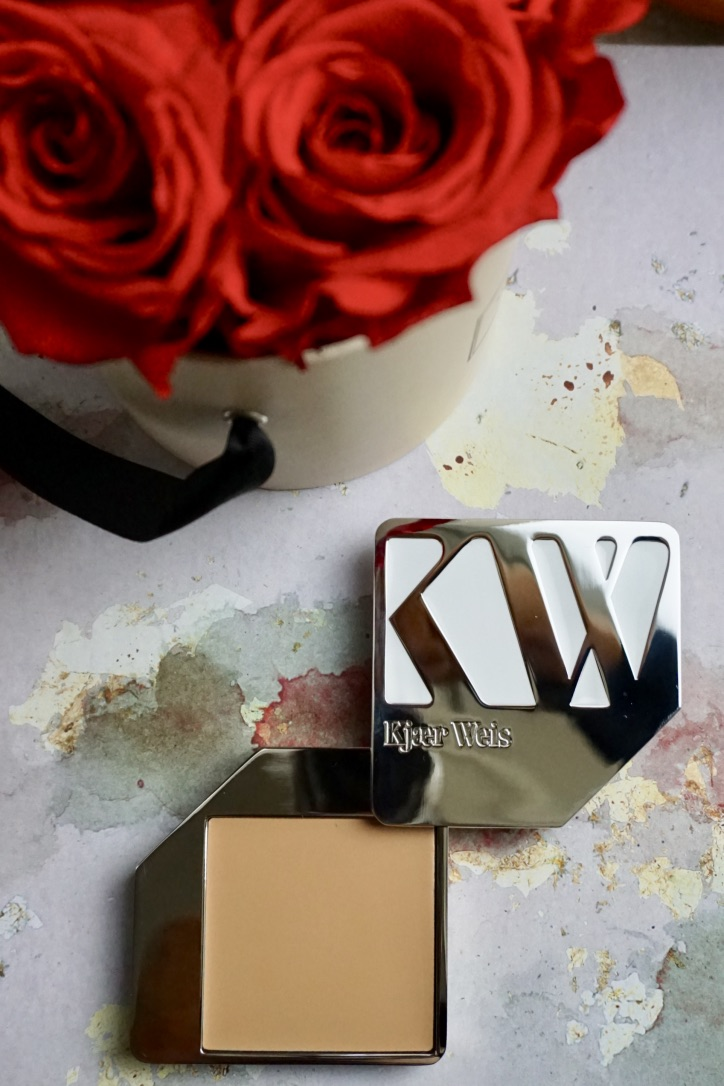 1. Kjaer Weis Cream Foundation (contains beeswax) - This luxury beauty brand impresses on many levels. But our top pick is its packaging, which creative director Marc Atlan designed in order to bring together luxury and sustainability. The heavy metal cases can be reused over and over again. The refills cost nearly half the price, making the one time hefty price seem positively worth it. The product itself is moisturising, without being heavy and shiny. I recently bought it for my sister, who has oily skin and usually has problems wearing most foundations. She seems pretty happy with Kjaer Weis Cream Foundation.Gluten-free, certified organic and without synthetics. It is not tested on animals but it is not vegan because of beeswax.€61