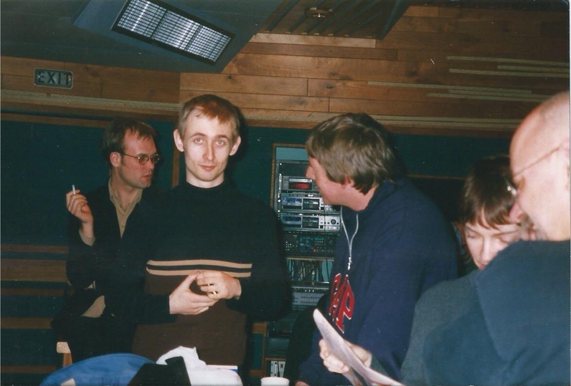 With Neil Hannon (Fin de Siecle)