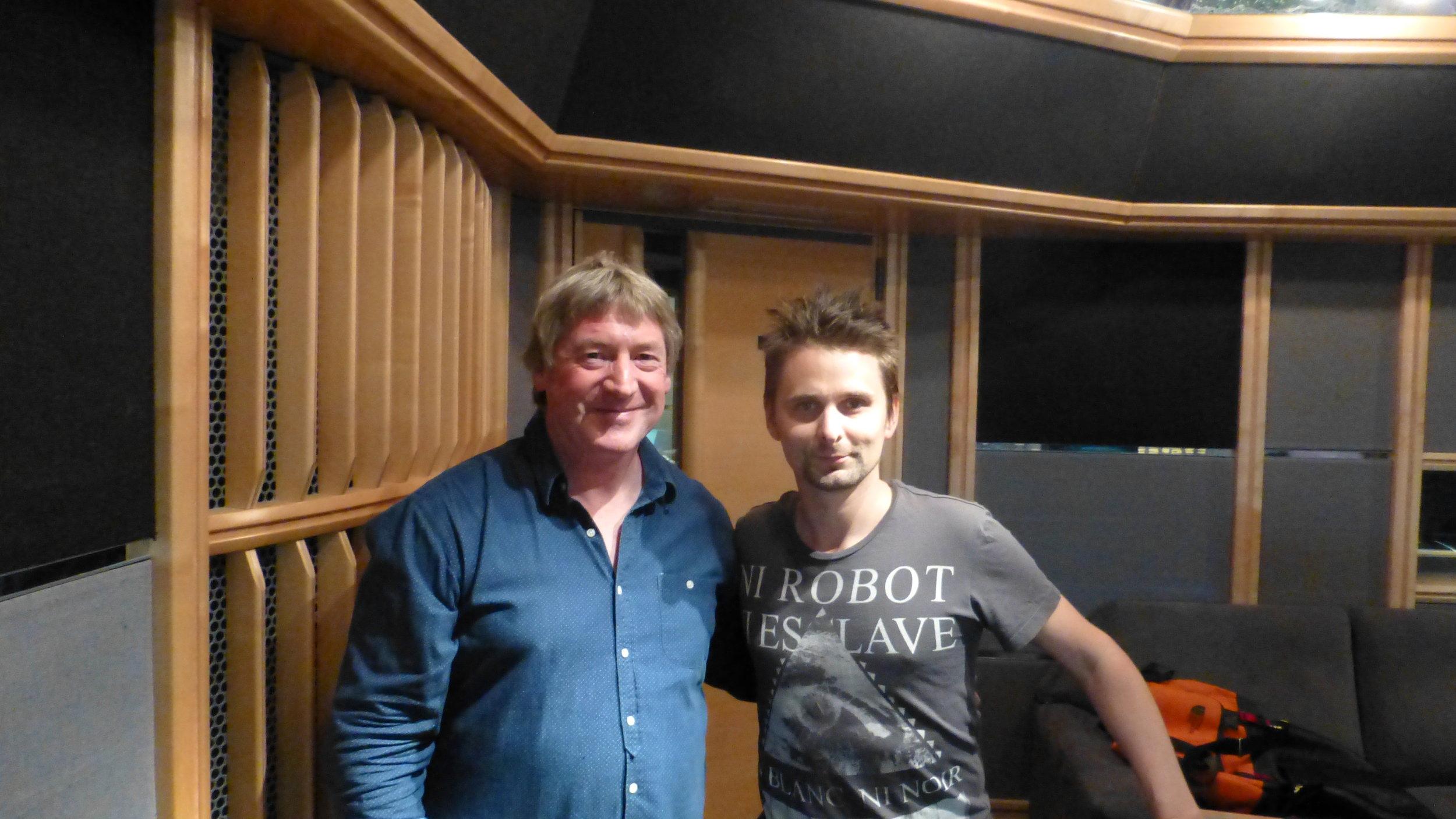 With Matt Bellamy (MUSE)