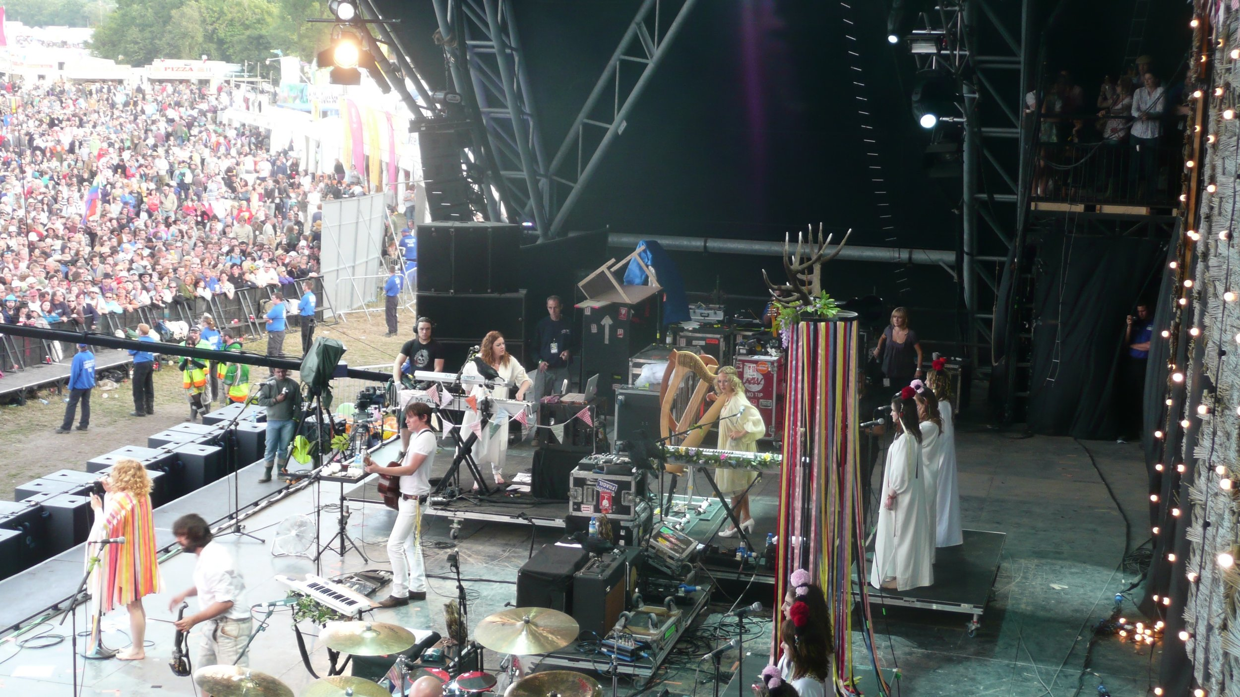 Goldfrapp at Glastonbury 2008