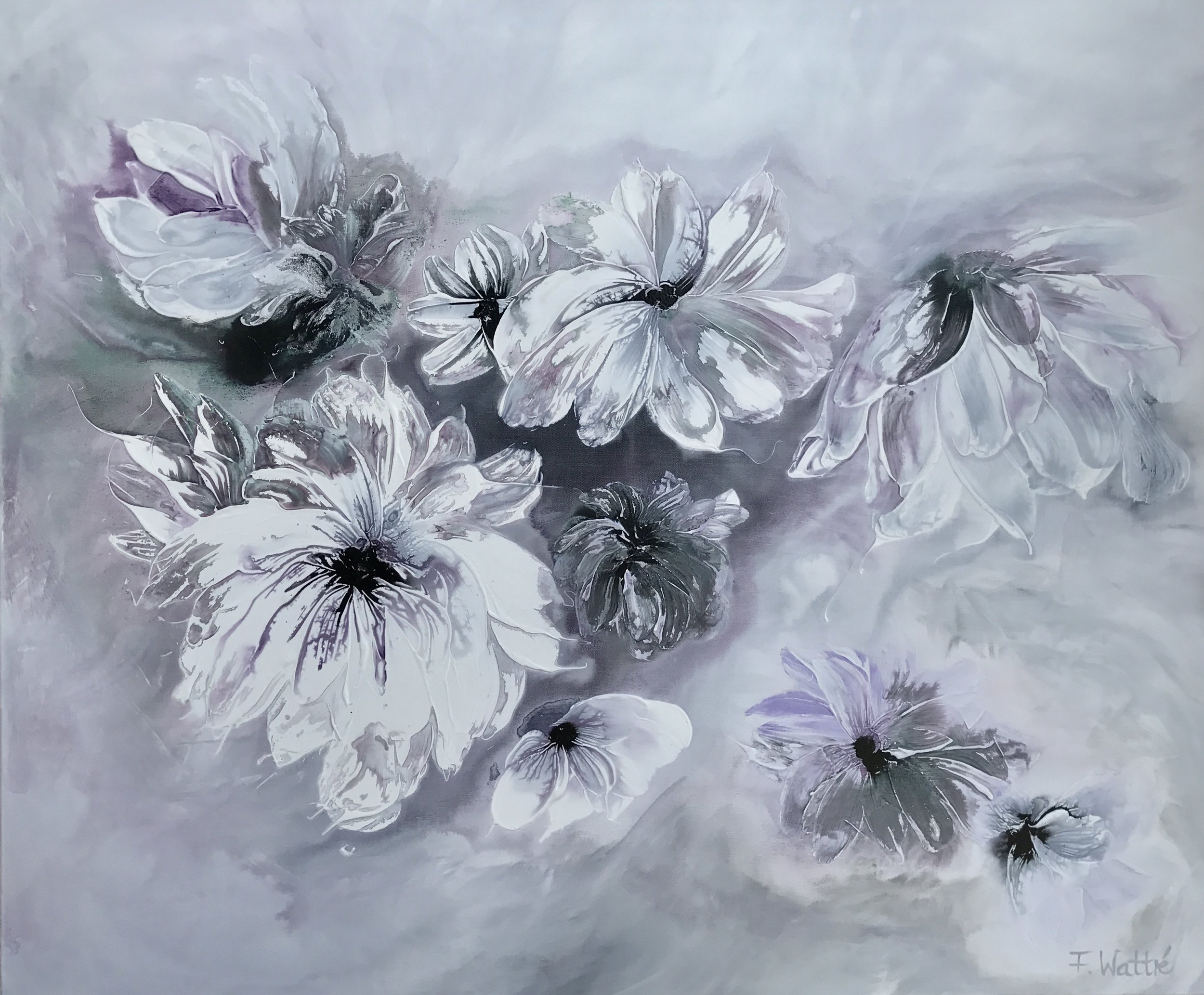 """ Purple morning "" 