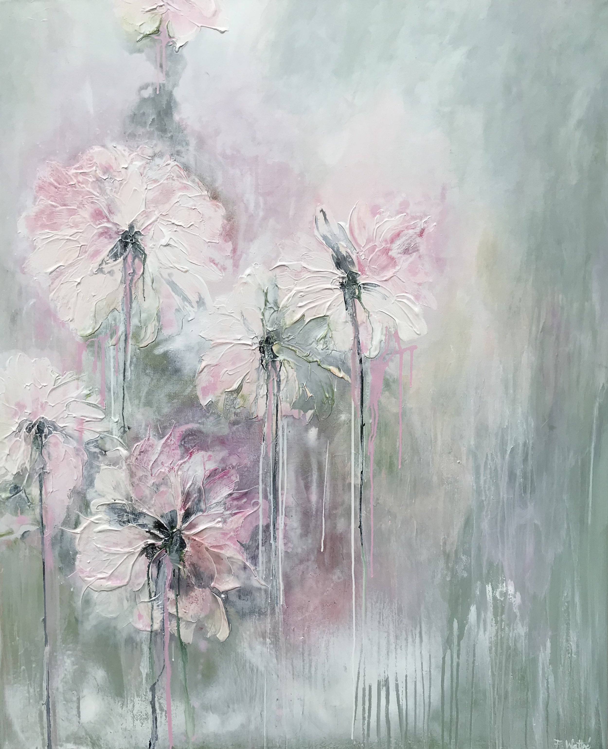""" Gentle summer rain "" 