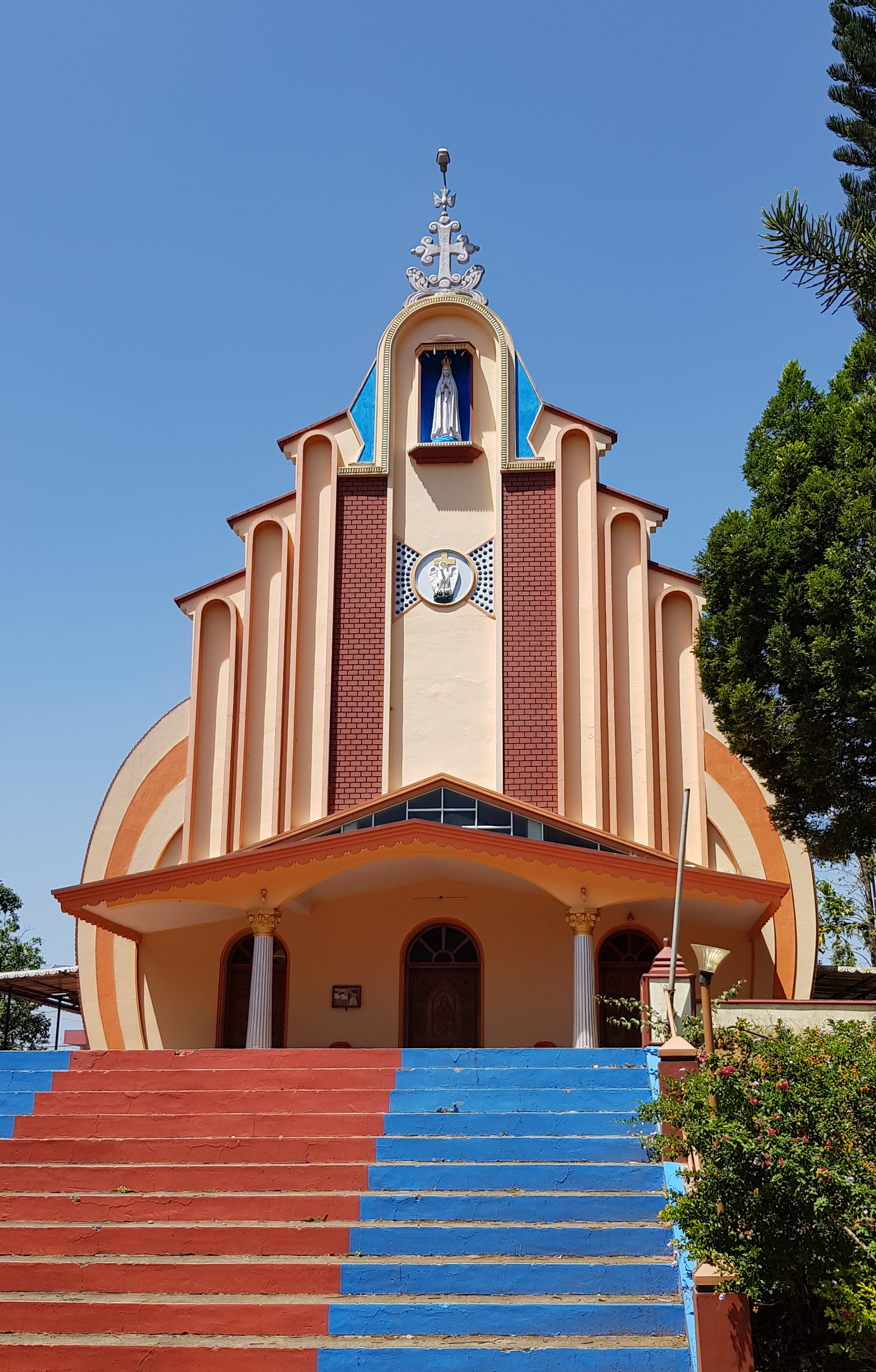 kerala church ding ding design