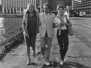With Gena Rowlands & John Cassavetes