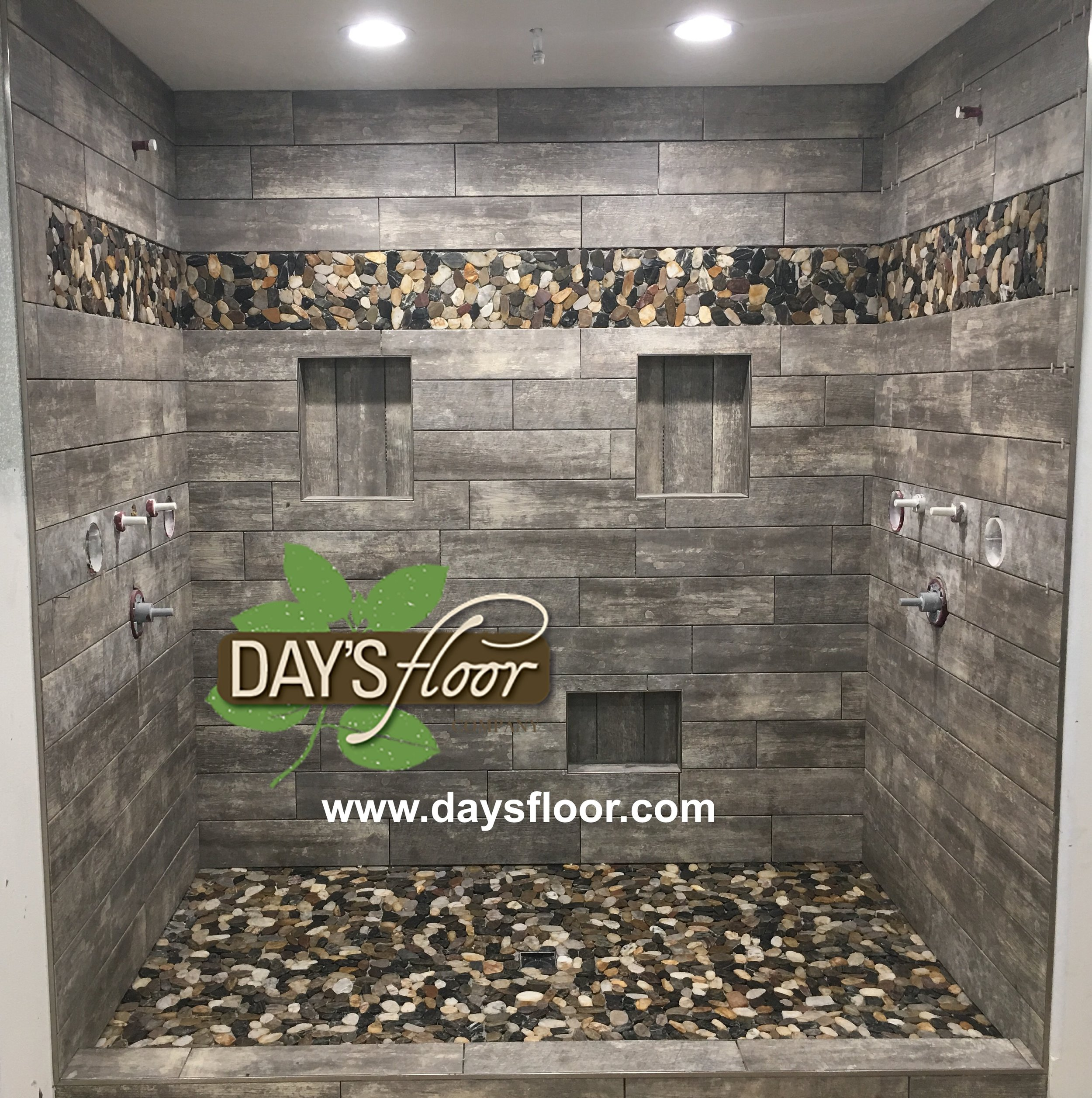 Tile and Stone Shower Products by Days Floor Company