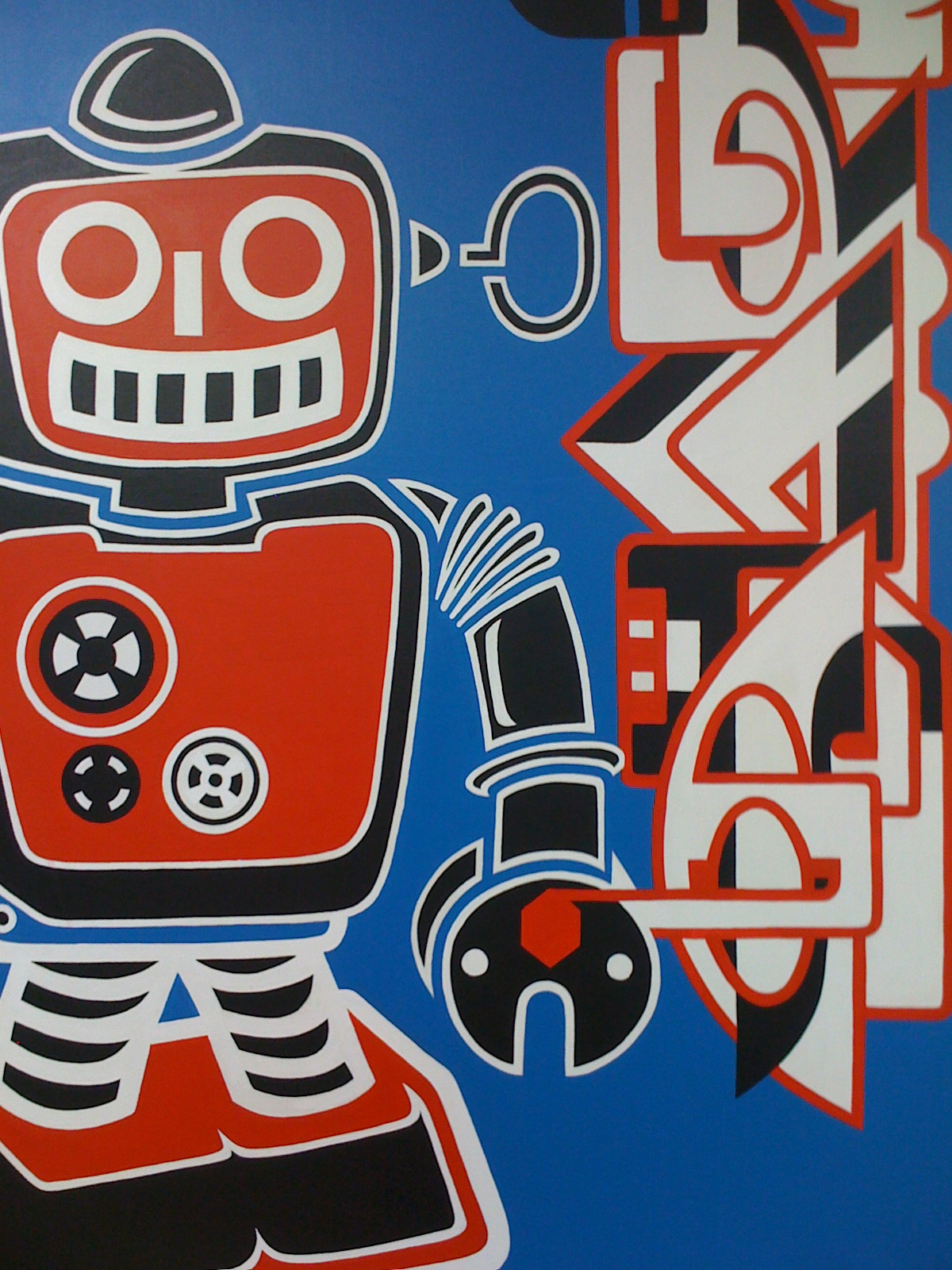 Robot series - Sign of the times