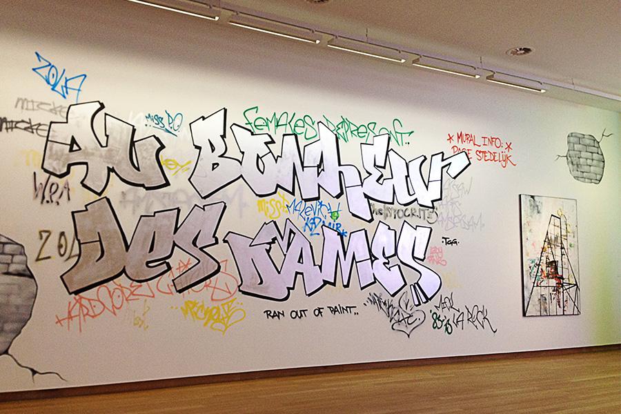 Mick La Rock x Paulina Olowska. Stedelijk Museum Amsterdam. 2013