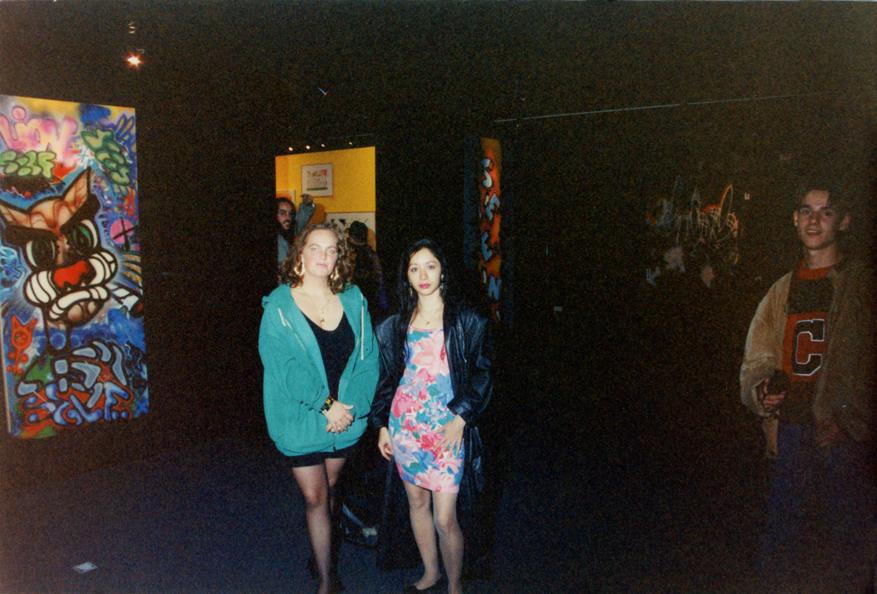 Groninger Museum 1992.  La Rock & La Pink