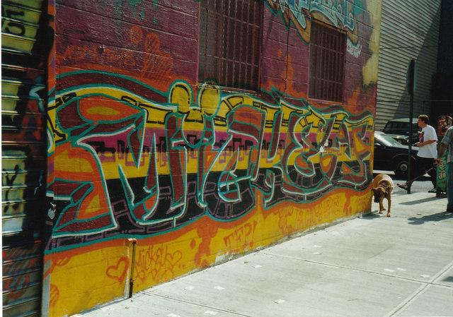 Williamsburg Brooklyn 1995.