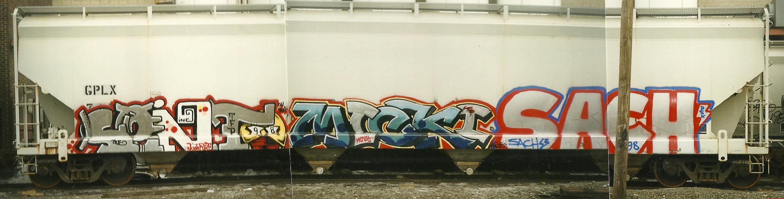 New York City, 1998    Sento - Mickey - Sach