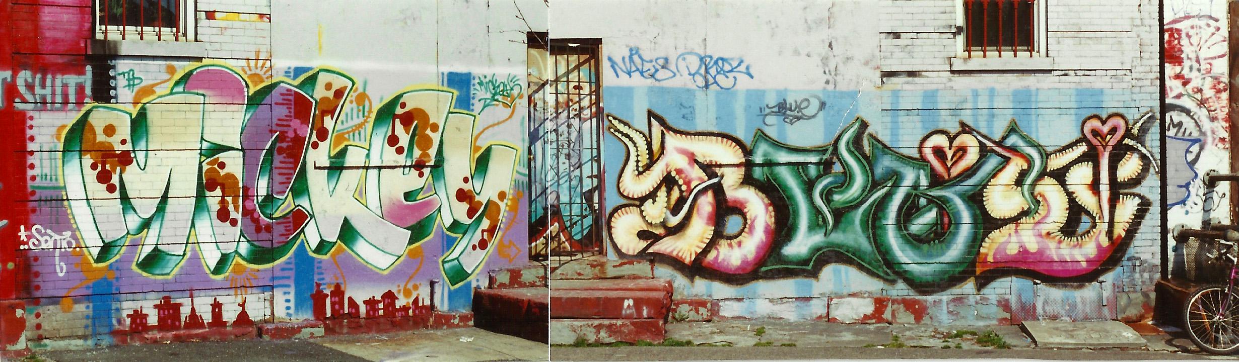 Brooklyn 1999  Mickey - Blue a.k.a.  Carolina Falkholt