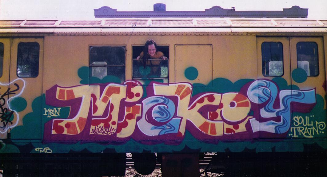 NYC 1995  Brooklyn scrap yard.
