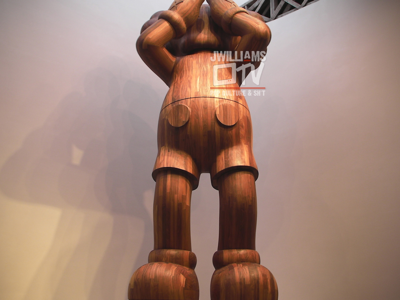 """Kaws' """"AT THIS TIME"""" at the Mary Boone Gallery in New York City"""