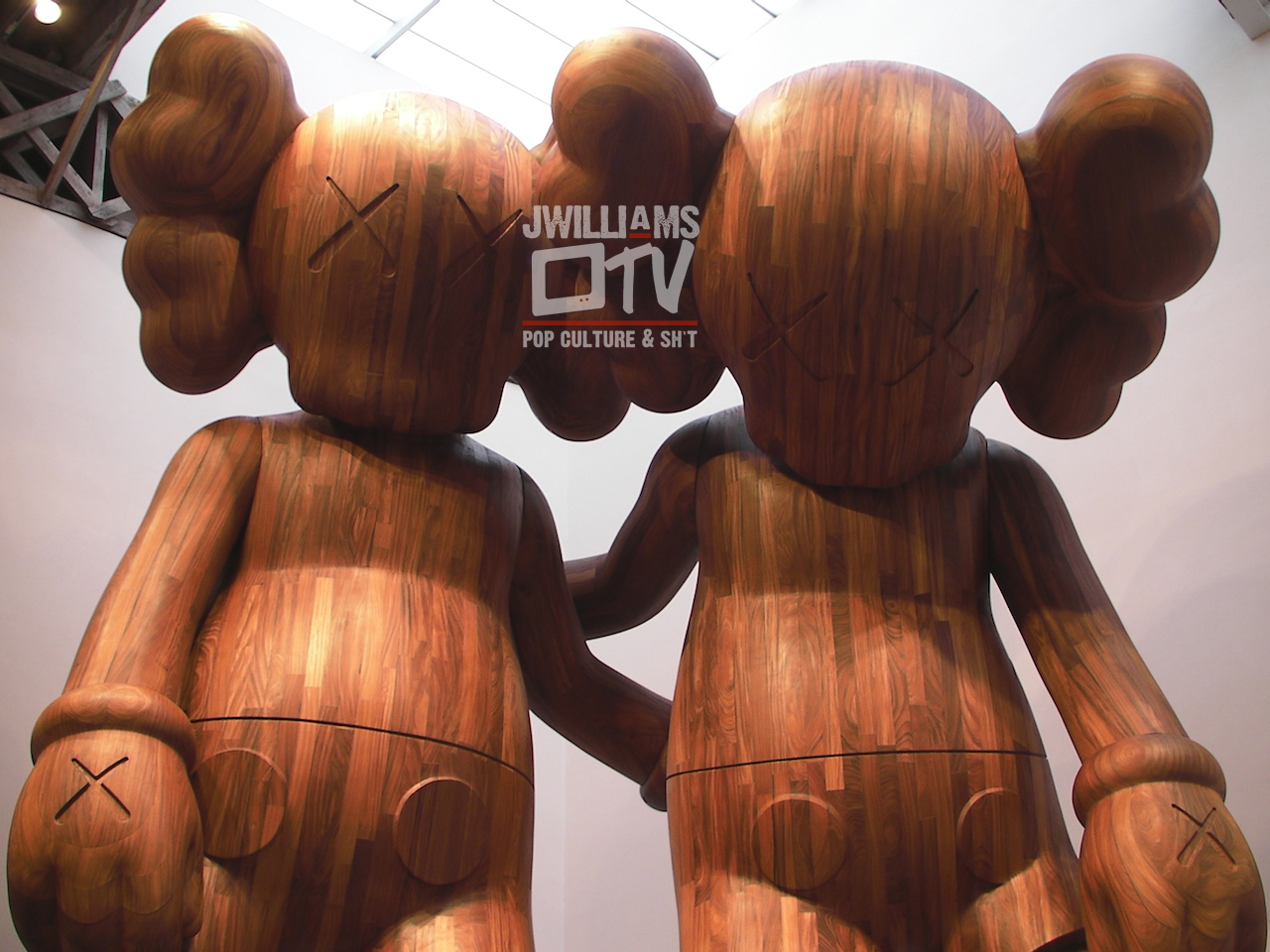 """Kaws' """"ALONG THE WAY"""" at Mary Boon Gallery in NYC"""