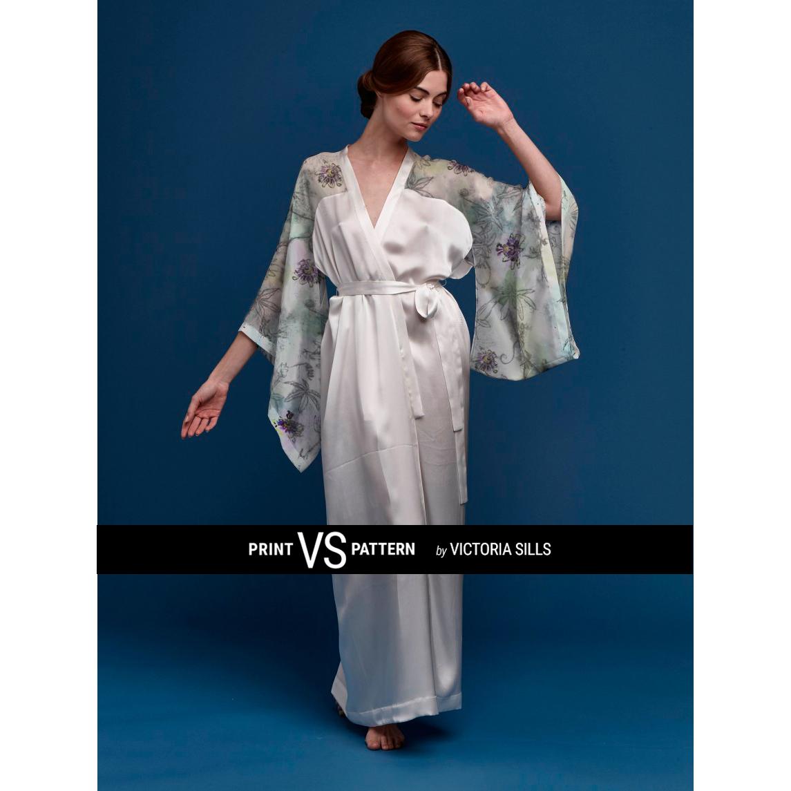 Kimono with Passiflora Light