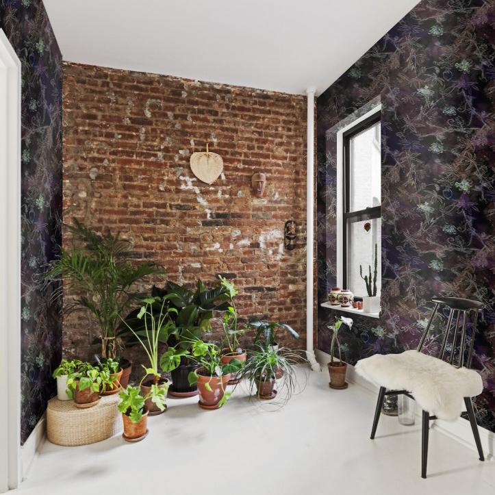 Wallpaper in Passiflora Dark