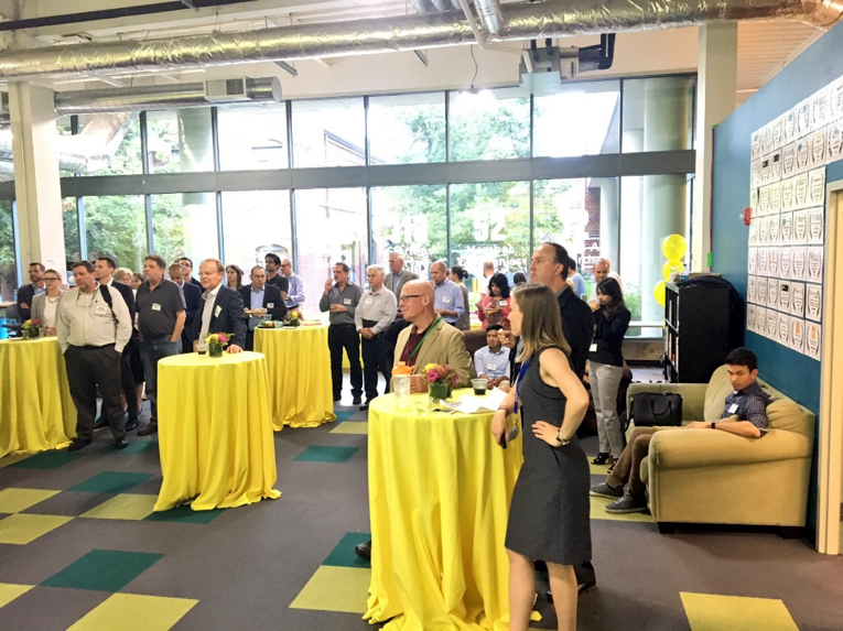 Kickoff event from a recent Launch program at Greentown Labs