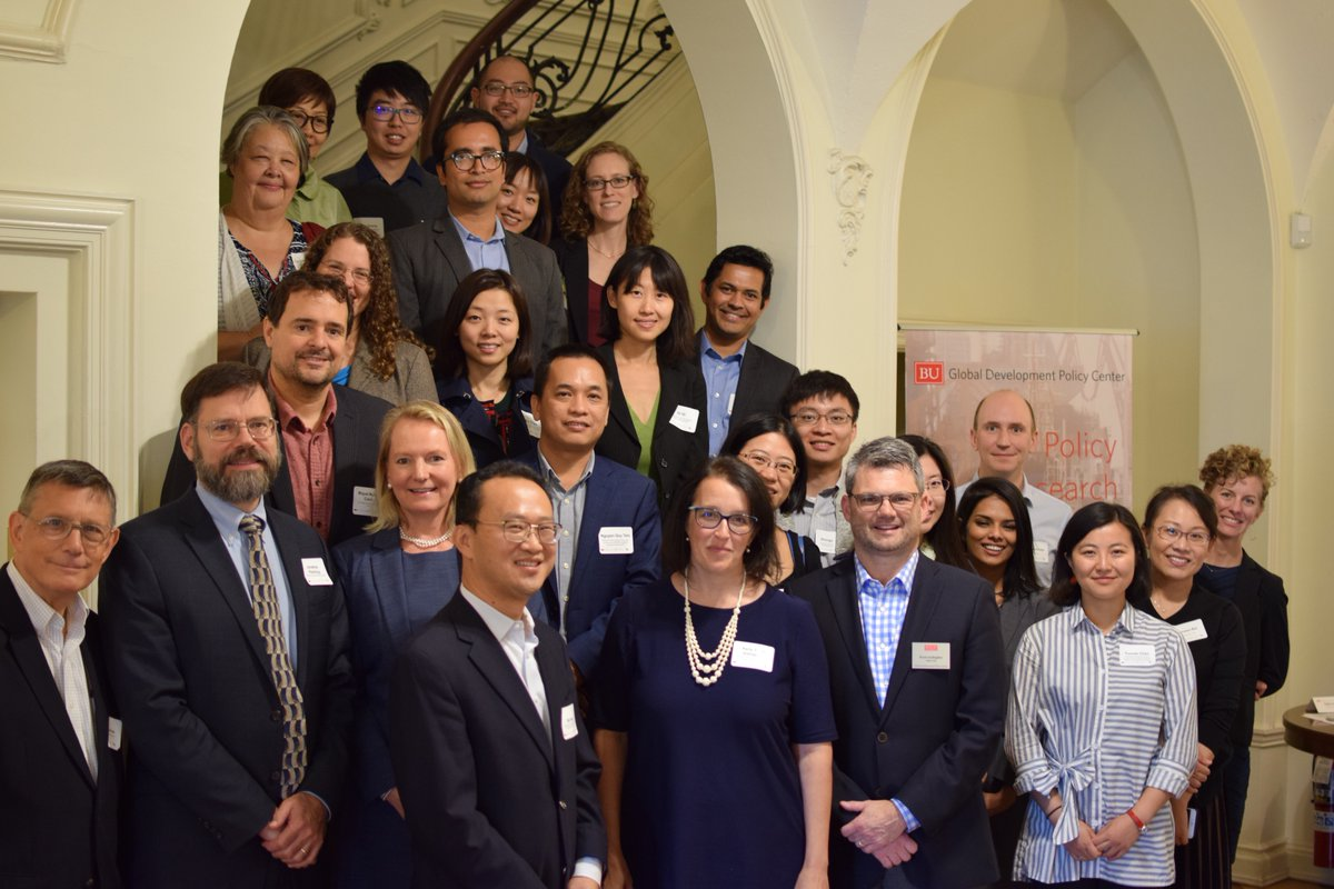 "Bringing researchers in this field together on October 4th and 5th, 2018, the Climate Policy Lab, jointly with the  Global Development Policy Center at Boston University , hosted a workshop titled ""Chinese Overseas Energy Investments: Implications for Climate and Development Policy."""