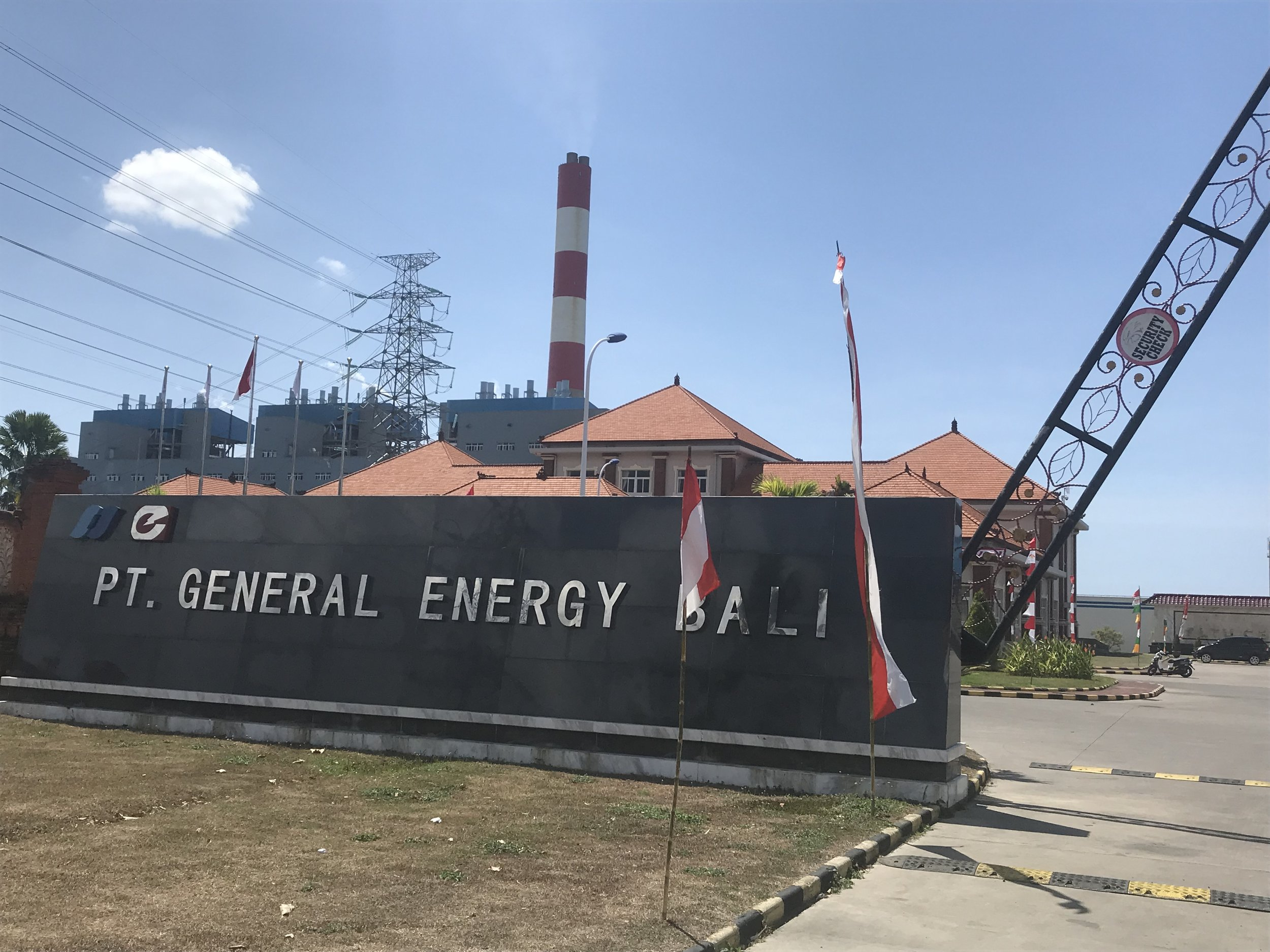 Rishikesh Bhandary visited a coal fired power plant in Indonesia.