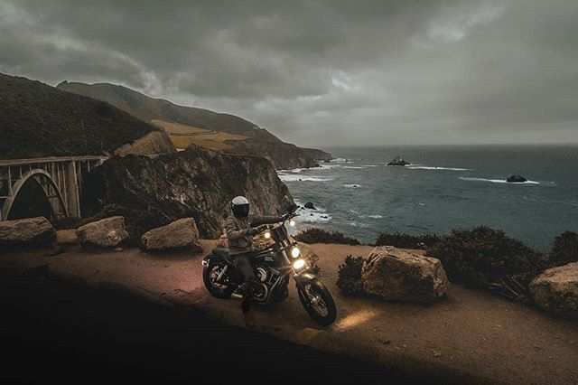 Sometimes you feel the storm clouds rolling in... just keep riding. Again, go follow @BrianGarxia We promise, good decision.  #Motolo #MotoloCrew