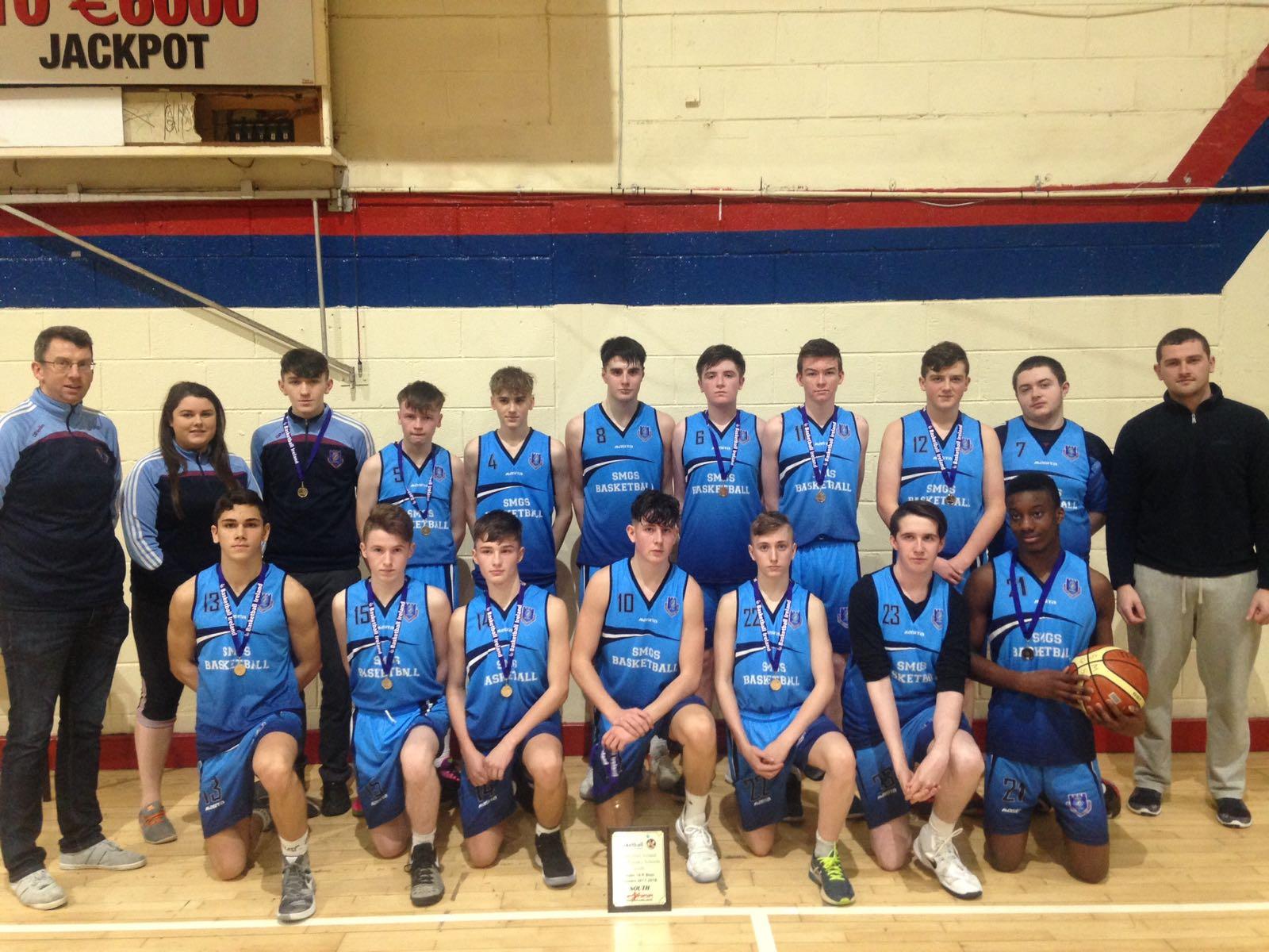 Boys U16 A Basketball Champs