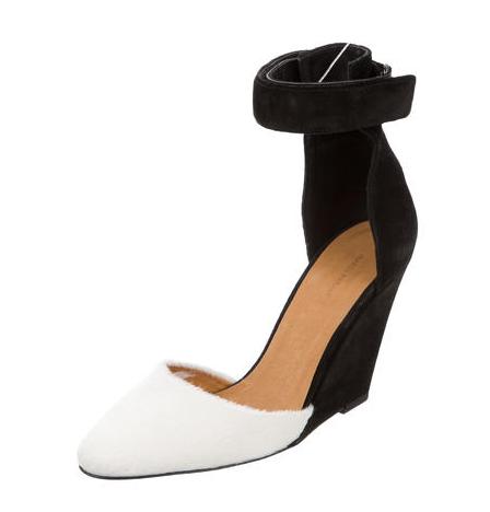 White Isabel Marant pointed heels