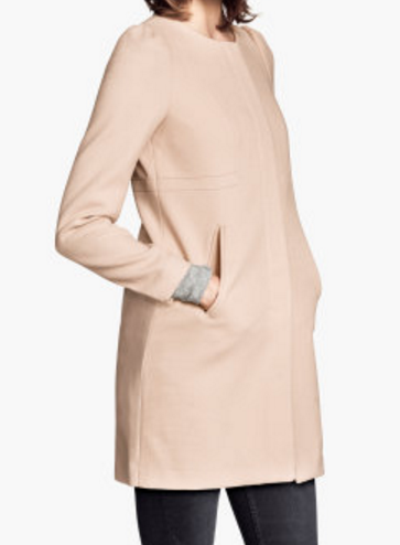 H&M woven textered coat.PNG
