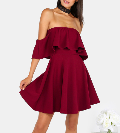 maroon make me chic dress.PNG