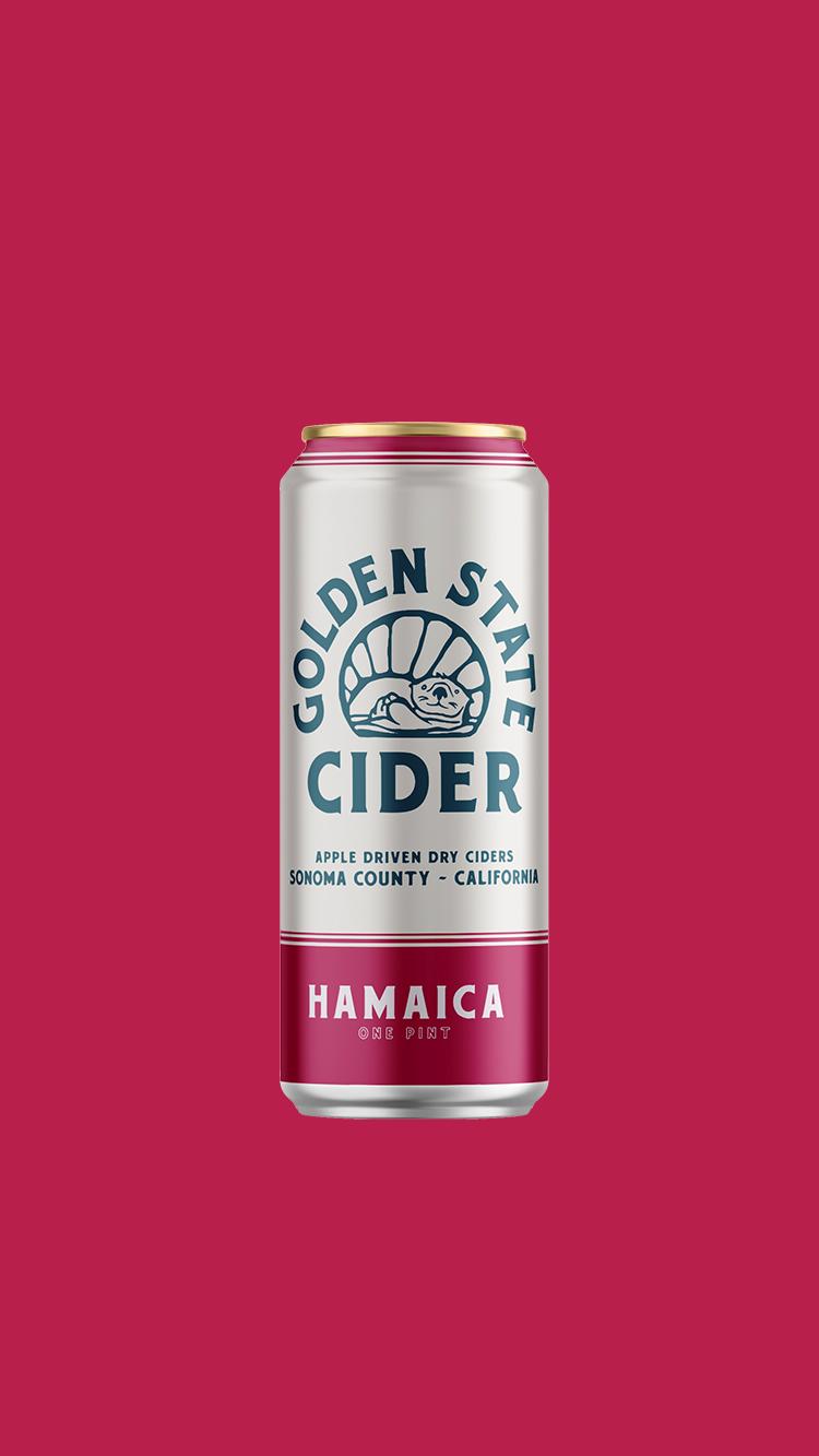 HAMAICA  Hibiscus infused cider
