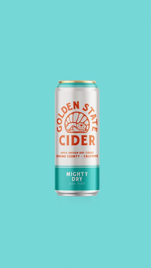 MIGHTY DRY  Crisp dry cider
