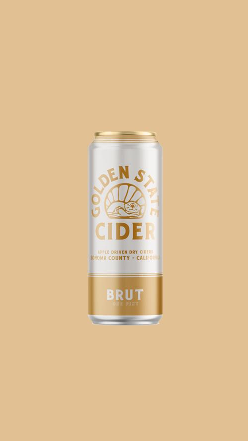BRUT  Rustic dry & unfiltered cider
