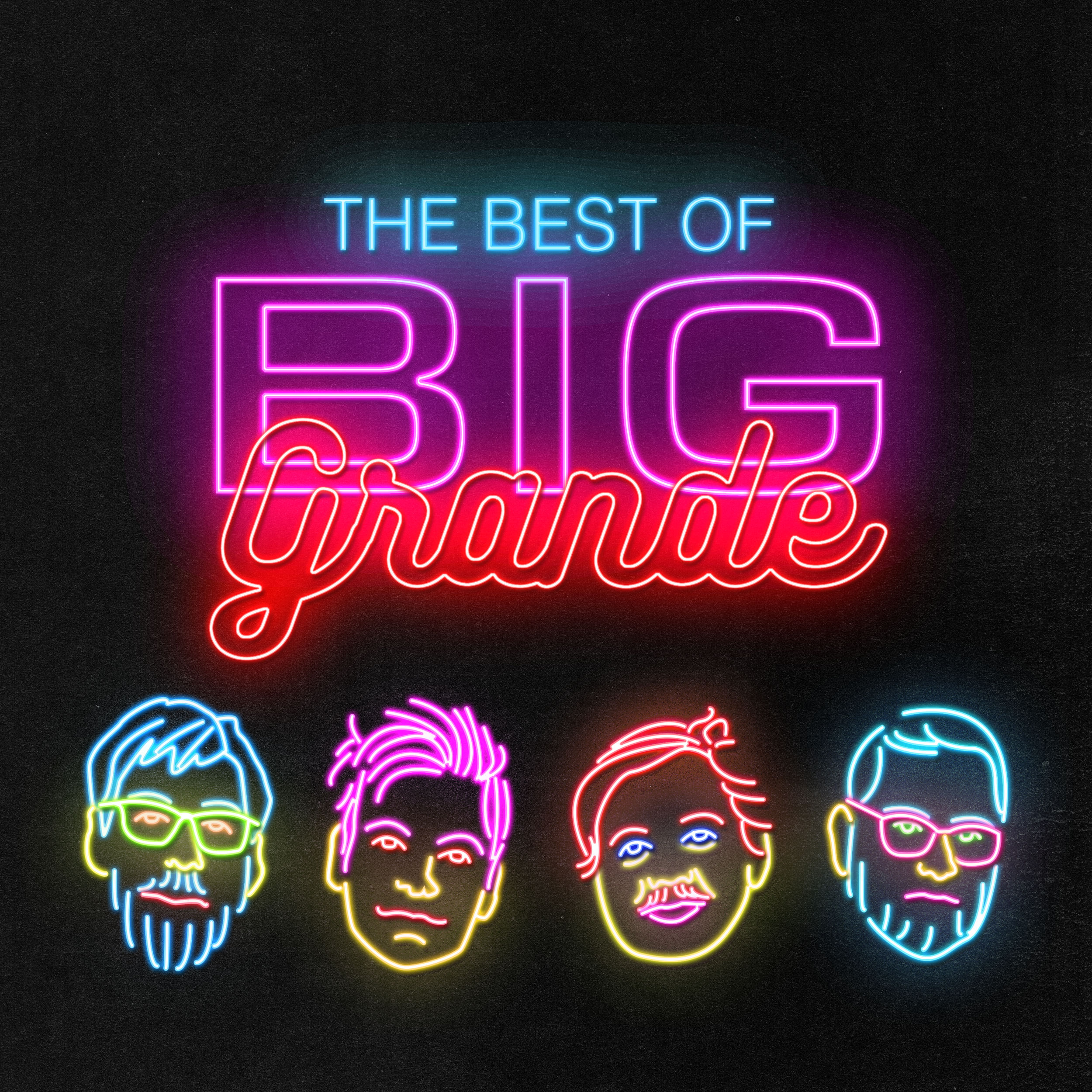 The Best of Big Grande - Podcast Art