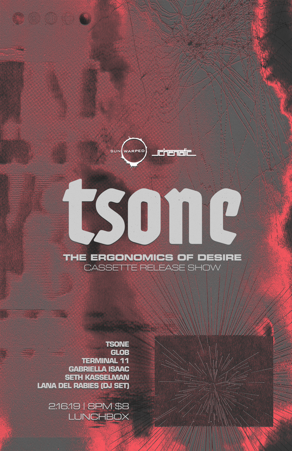 tsone The Ergonomics of Desire - Poster
