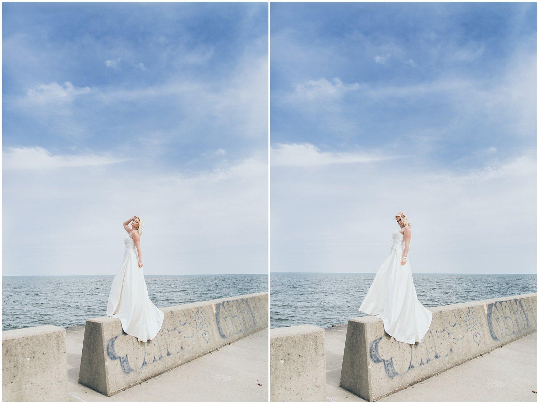 Ocean Bridal Portrait
