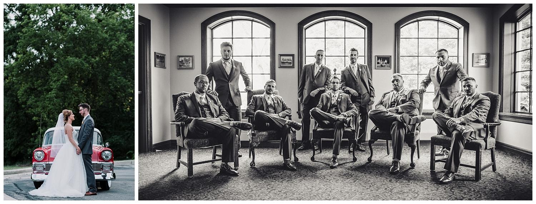 Vintage Style + Badass groomsmen.