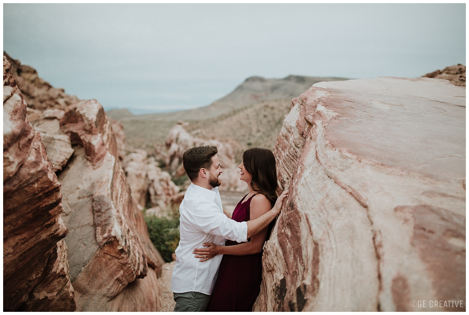 BRI + CHRIS - Red Rock Canyon Engagement Photos | NV