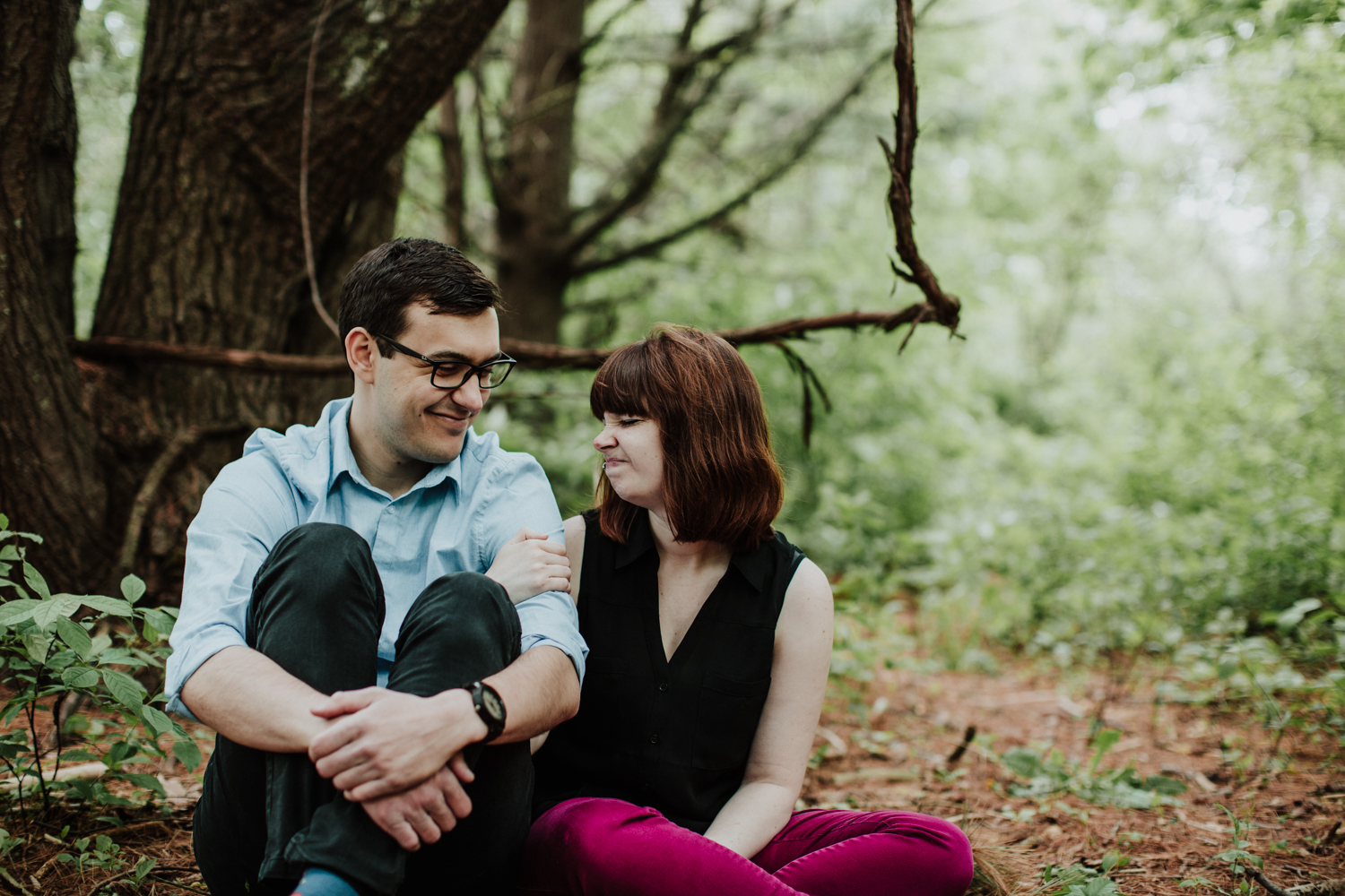 Lizz + Andrew - Authentic Engagement Session | Milwaukee WI