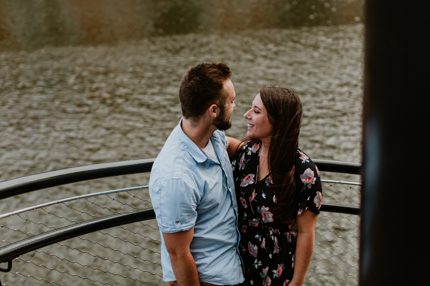 Nick + Ally - Industrial VibesMilwaukee Engagement Session