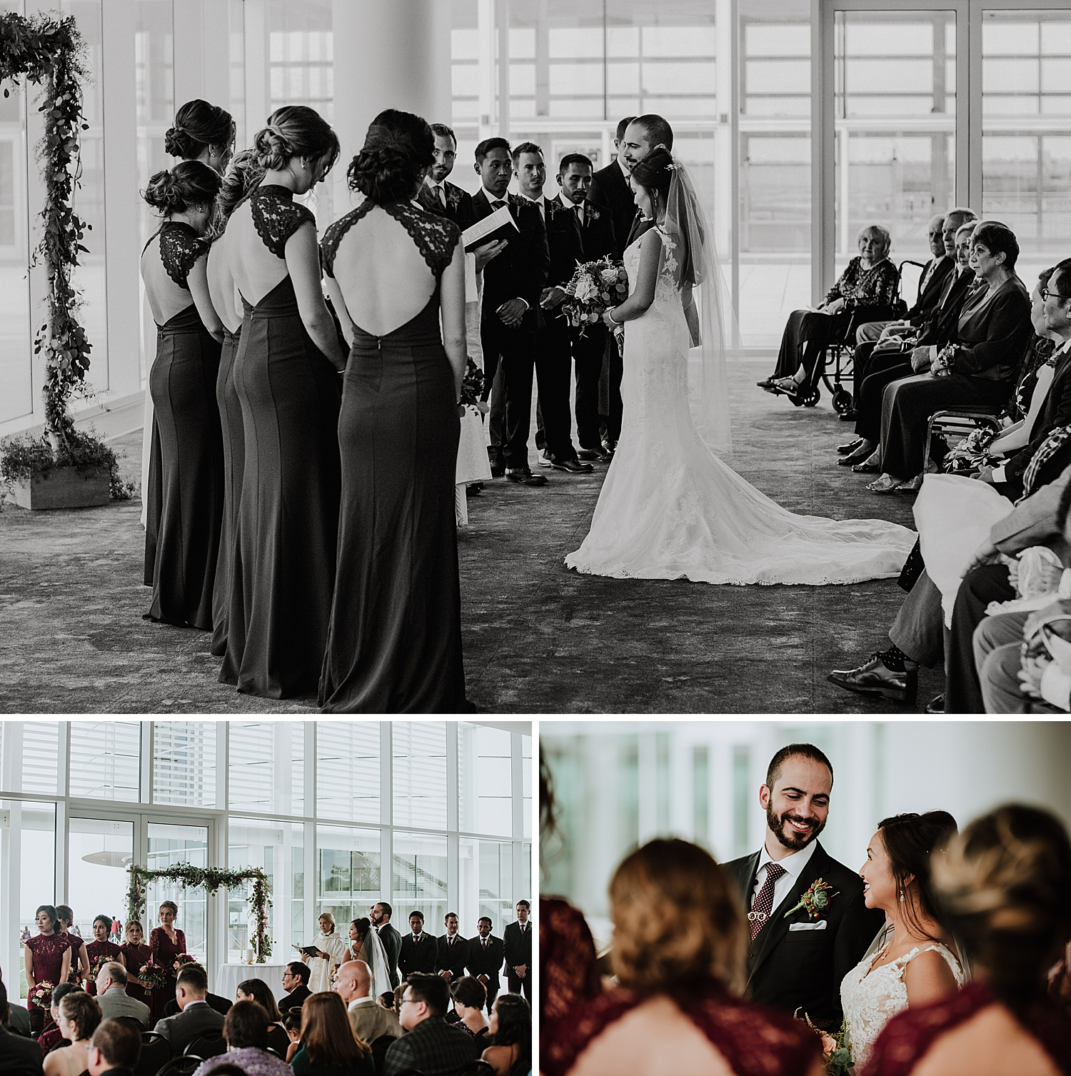 Wedding Ceremony in Discovery World Pavilion