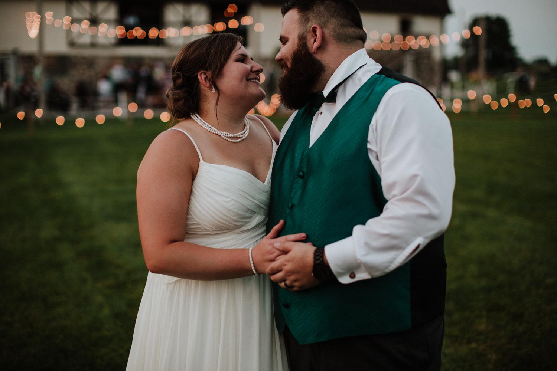 Laura + Travis - Vibrant + Rustic Summer Wedding