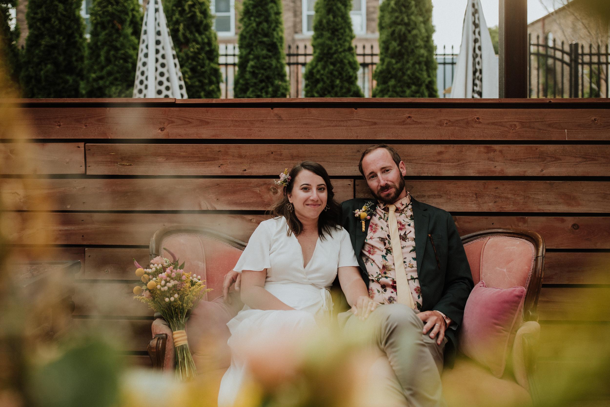 Caitlyn + Jacob - Intimate + Unique Wedding at Hotel Madrid