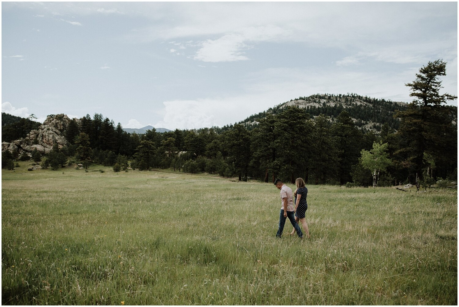 Caleb + Heather - Evergreen, CO Engagement Session