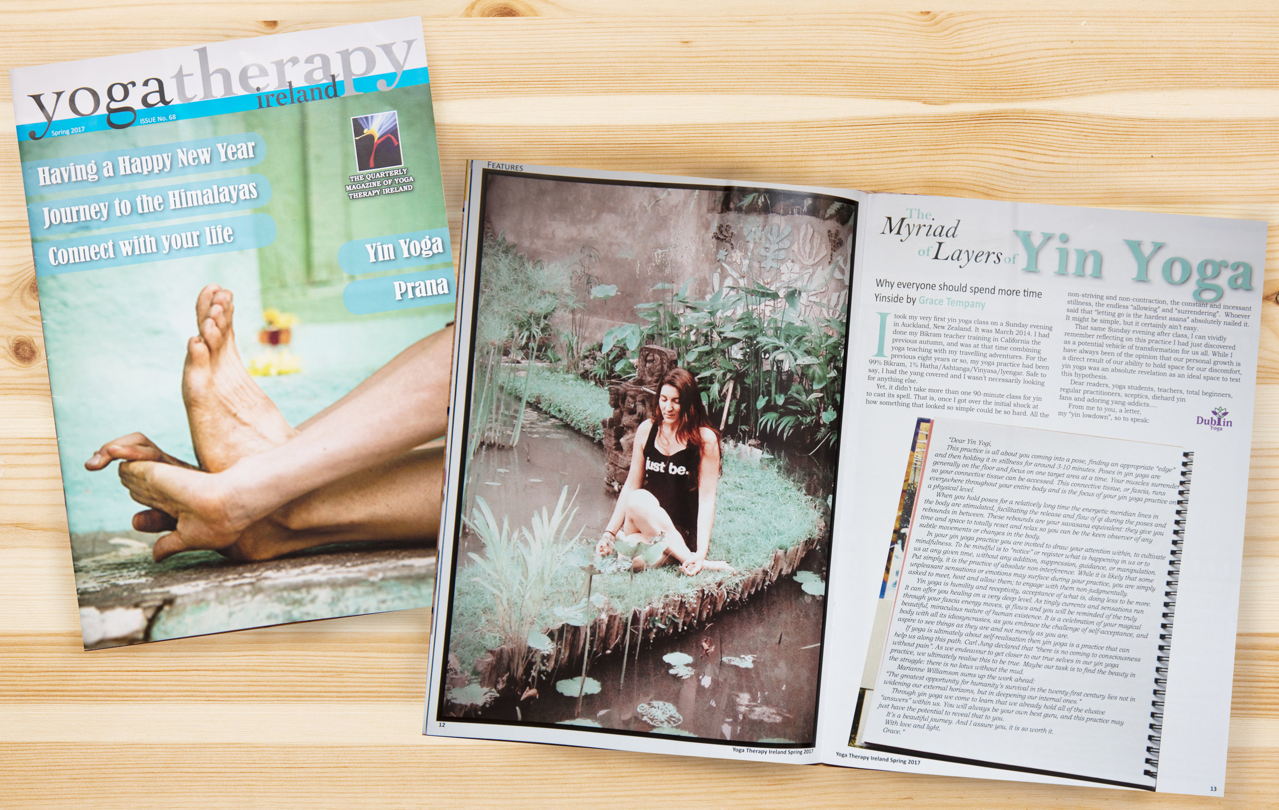 The Myriad Layers of Yin Yoga - Article in Yoga Therapy Magazine