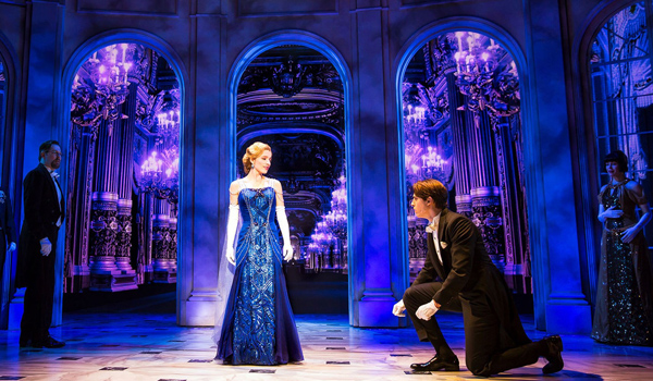 Anastasia - Peggy's work can currently be seen on Broadway at the Broadhurst Theatre.