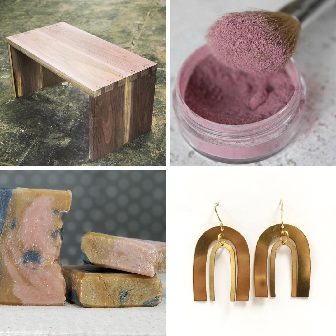 Turn Me Loose Wood Works ,  Bella Beloved ,  Pip & Lola ,  Odyssey & Oddities
