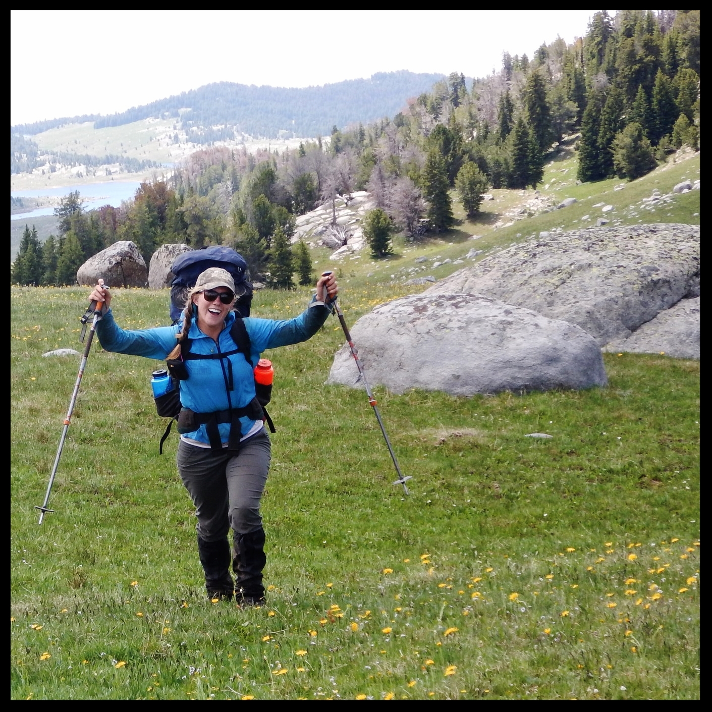 Backpacking Mountains Meadow College Trips