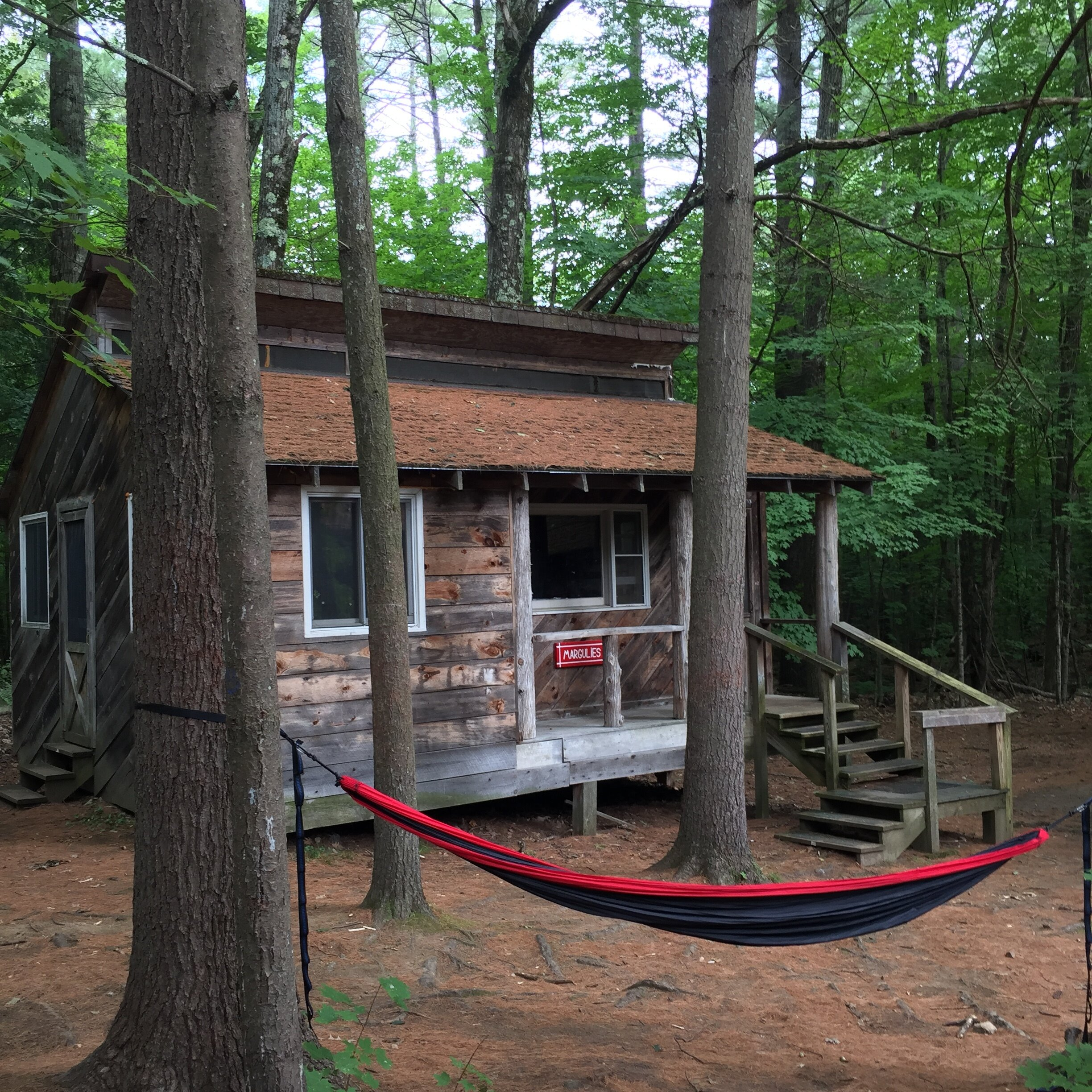 One of the cabins reserved for our May 2020 WFR and WFR re-cert courses.