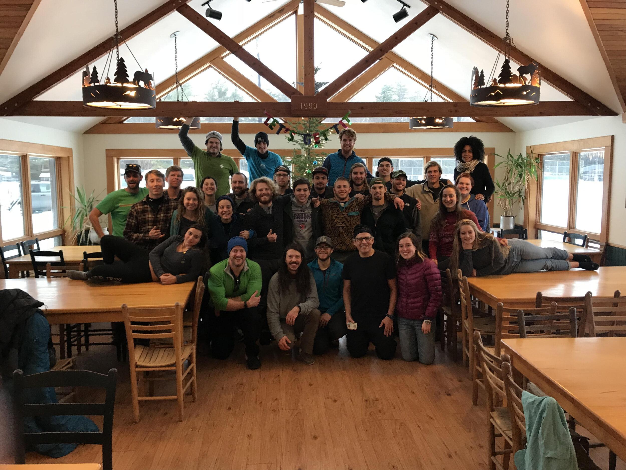 Happy WFR graduates at the Pok-O-MacCready Outdoor Education Center in Willsboro, NY.